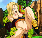 Android 18 Raped By Cell XXX Porn Game