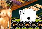 Hold Em' Poker with Malene XXX Porn Game