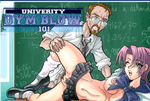 University Gym Blow XXX Porn Game
